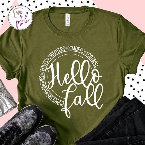 HELLO FALL TEE