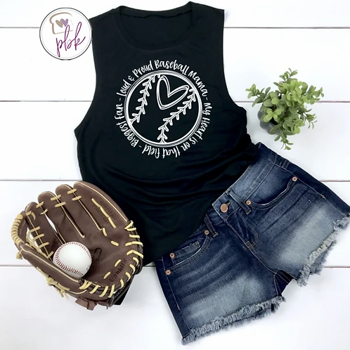 LOUD AND PROUD BASEBALL TEE