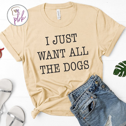 ALL THE DOGS TEE