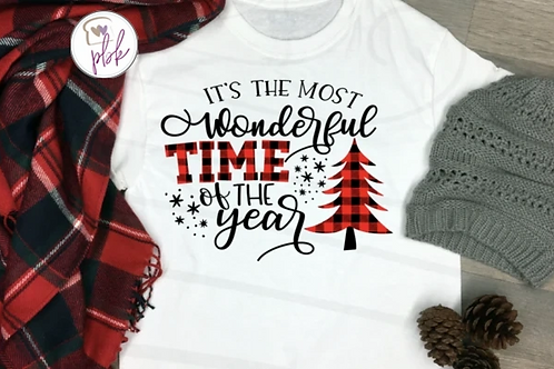 ITS THE MOST WONDERFUL TIME OF THE YEAR TEE