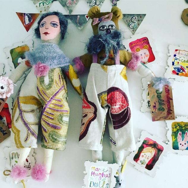 Handmade art dolls