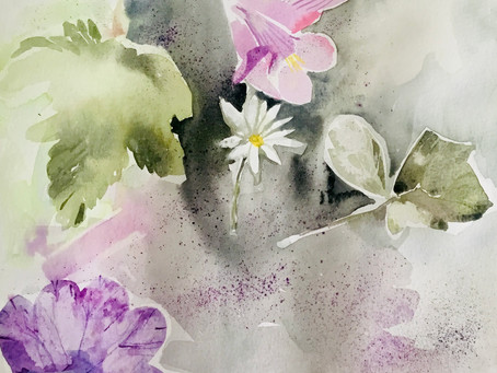 One to one watercolour/drawing  workshops