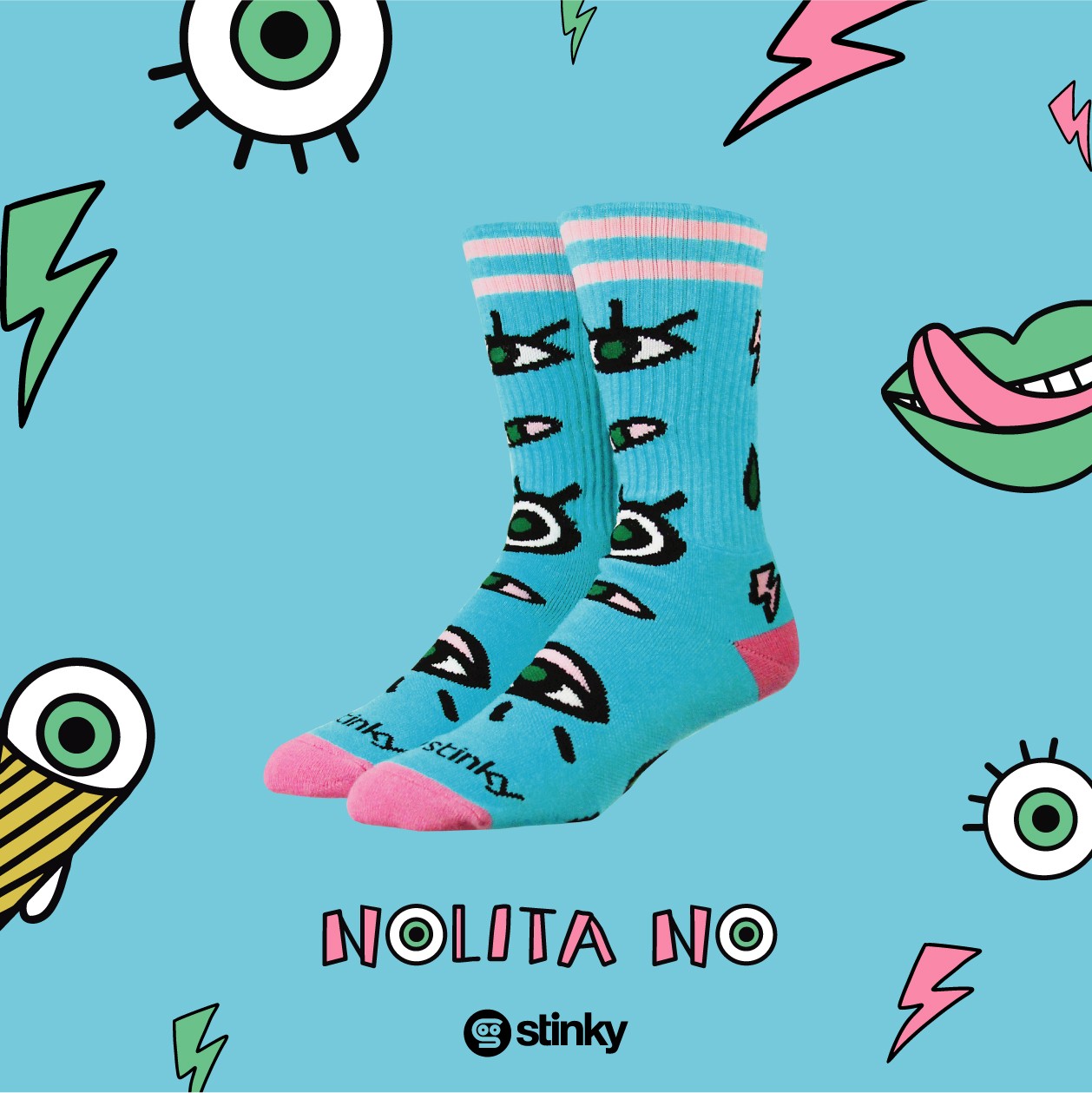 Stinky Socks Collaboration