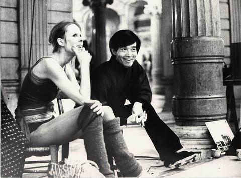 Avec Carolyn Carlson au Palais Garnier