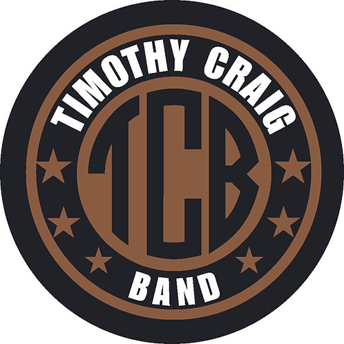 Stickers (5 Qty) - TCB  Timothy Craig Band