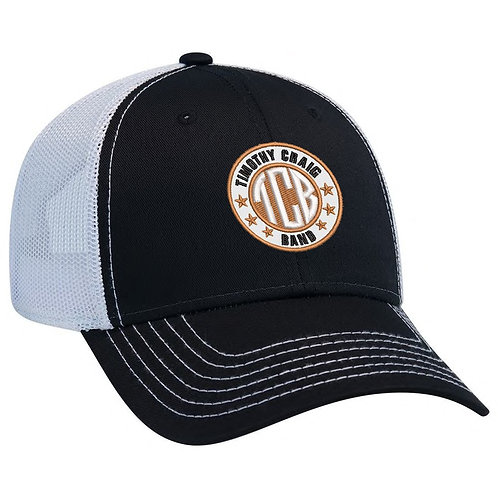 Trucker Hat - TCB - Timothy Craig Band