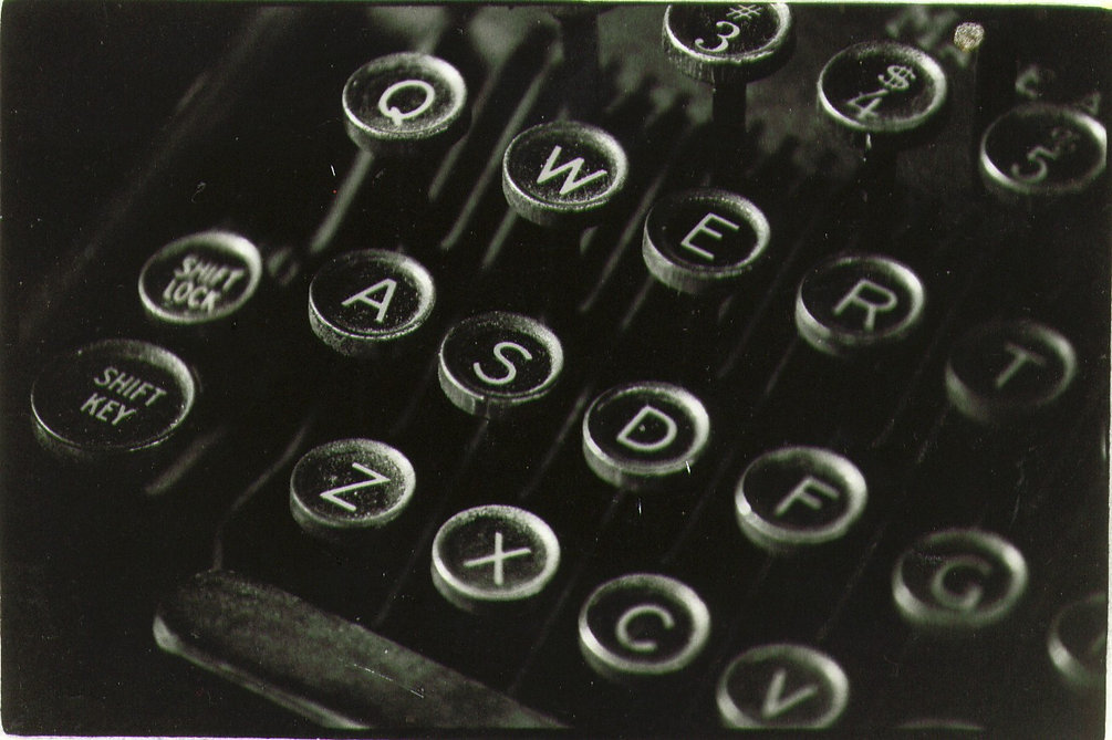 Typewriter Background