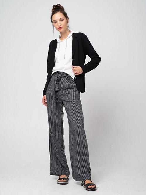 Linen Stripe Pants