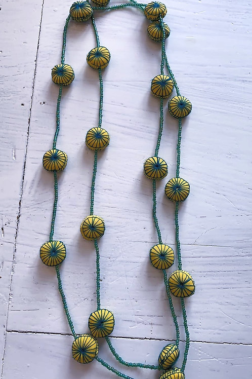 Gelb-grüne Kette
