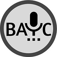 BAYC logo grayscale