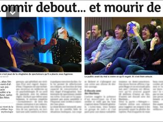 La presse en parle : Spectacle HYPNOTIKA avec Stéphane KRIMM