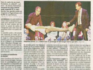 La presse parle d'HYPNOTIKA à Soufflenheim