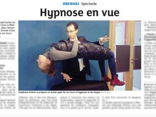 Les journaux parlent de l'événement HYPNOTIKA à Obernai