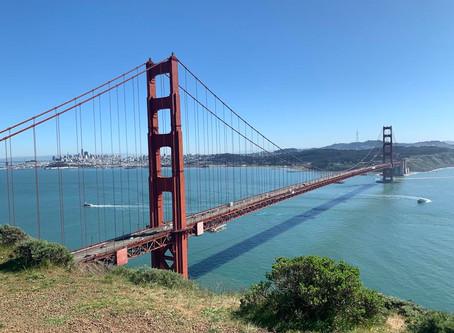 春のサンフランシスコ