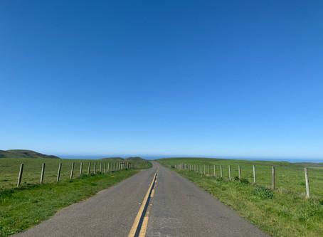 透き通る青い空 カリフォルニア