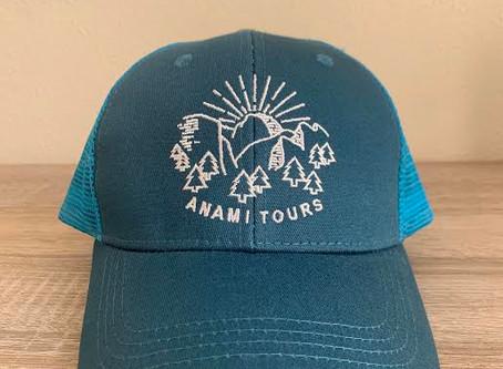 New ANAMI TOURS CAPS!