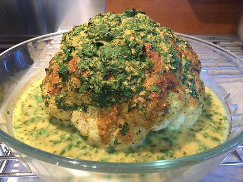 Miso Baked Cauliflower