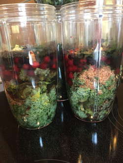 Water added to cover ingredients