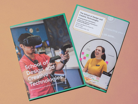 School of Design and Creative Technologies Admission Brochure