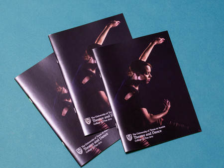 Department of Theatre and Dance 2018 Admission Brochure