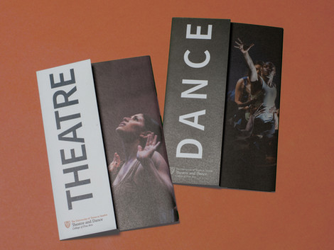 Department of Theatre and Dance 2017 Admission Brochure
