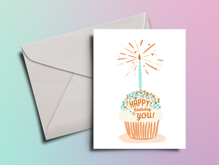 Birthday Card for UT Donors