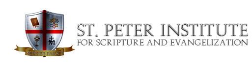 St. Peter Institute Logo side.png