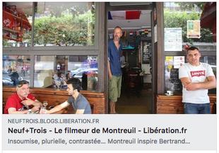 Article de 9+3 pour Liberation.fr