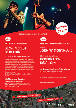 Projection concert 22 juin