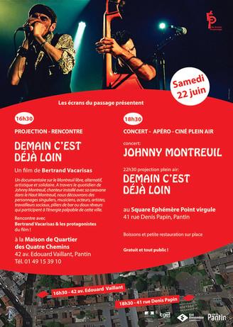 Projection concert 22 juin