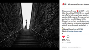 Instagram Leica France