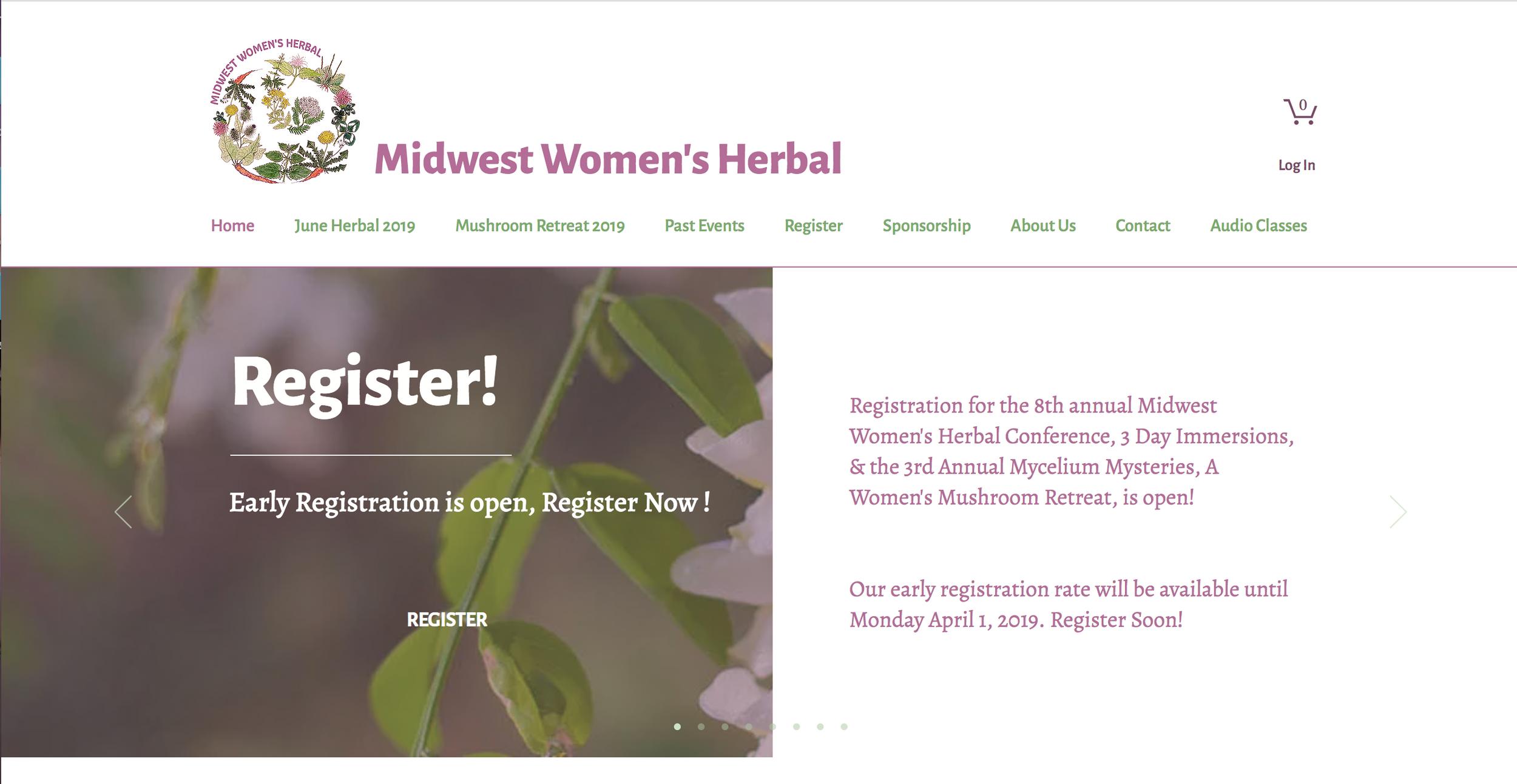 Midwest Women's Herbal Presents | Mycelium Mysteries