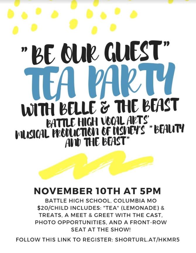 Tea with Belle & Beast