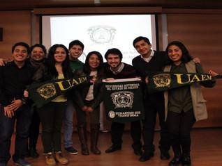 Adrián Yahib López González, beca de movilidad para cursar un semestre en la Universidad de Morón, A
