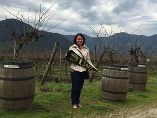 Gabriela Velázquez Arriaga, apoyo de movilidad para cursar un semestre en la Universidad de Chile