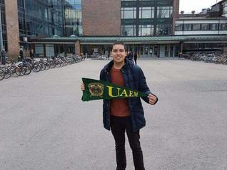 Alan Jesús Pérez Rodea, apoyo de movilidad para cursar un semestre en la Universidad de Ciencias Apl