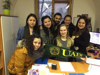 Ahira Elizabeth Delgado Jaramillo, apoyo de movilidad para cursar un semestre en la República Checa.