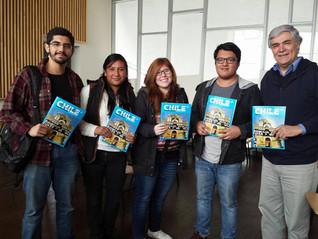 Jessica Alva Ortega, apoyo de movilidad para cursar un semestre en la Universidad de Chile