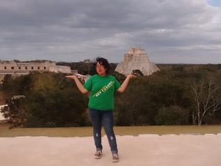 Ileana Andrade Patoni, apoyo de movilidad para cursar un semestre en la Universidad Autónoma de Yuca