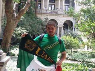 Héctor Gabriel Gómez  Benítez, apoyo de movilidad para cursar un semestre en la  Universidad de la R