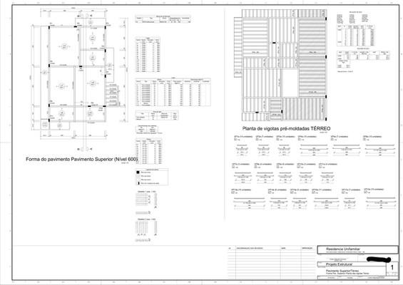 Elementos estruturais- Laje Prancha-1-00