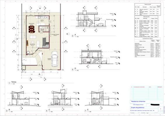 Casa 2 Pavimentos-Unifamiliar-Projeto Ar