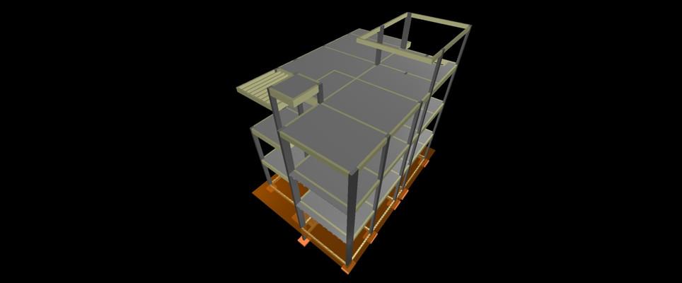 Estrutura 3D MULTIFAMILIAR SERRA - ES.JP