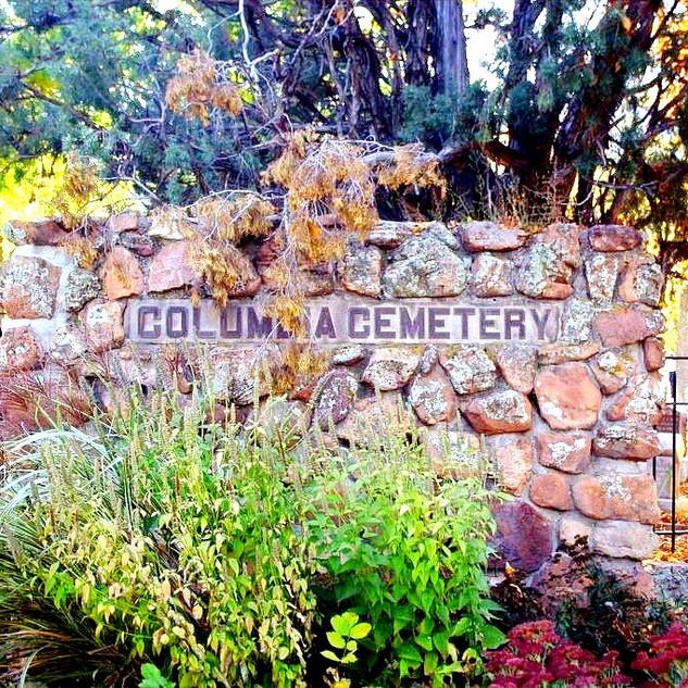 Columbia Cemetery - Renovation and designation, 1995