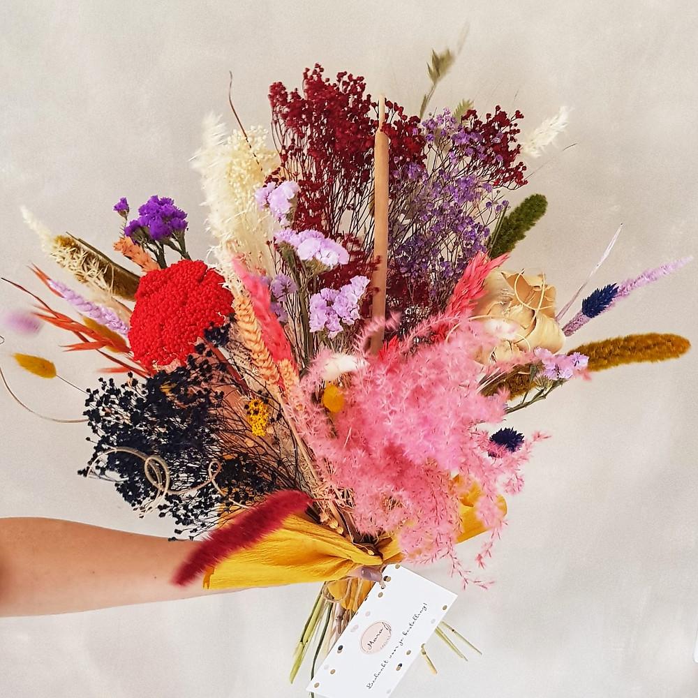 Droogboeket | Terra Rosa | droogbloemen | Maat L