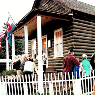 Old St. James Chapel, now home to The Gold Hill Historical Museum - Application for landmark designation, 1999