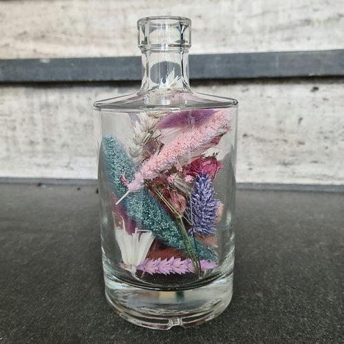 Droogbloemen fles S customized + diverse opties
