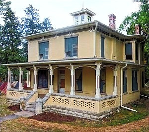 The Hannah Barker House - Purchase, rehabilitation, easements; Submitted to the National Register of Historic Places, 2015