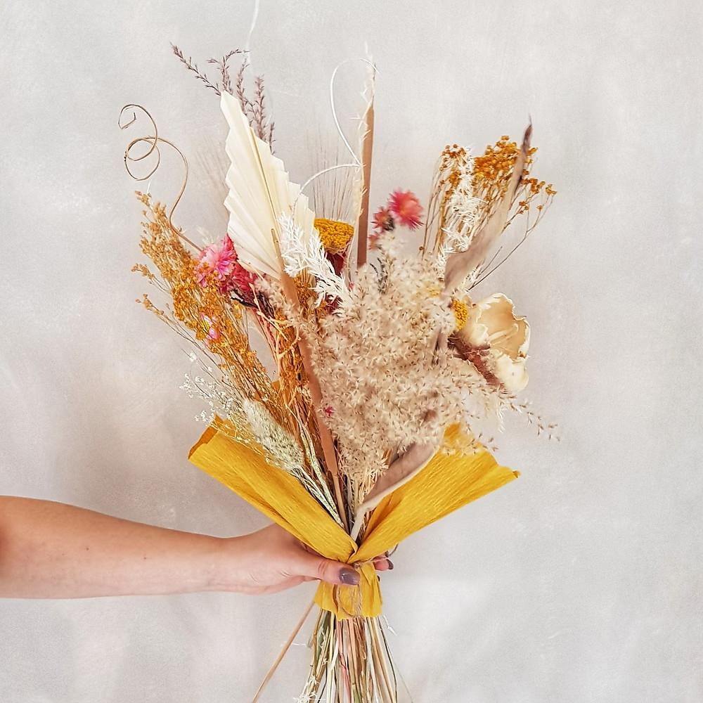 Droogboeket | Terra Rosa | droogbloemen | Maat M