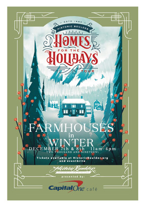 Homes for the Holidays Tour 2019, Farmhouses in Winter